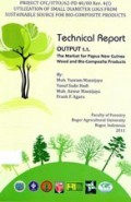 Technical Report : Output 1.1. The Market for Papua New Guinea Wood and Bio-Composite Products